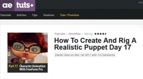 Create and Rig a Realistic Puppet: Day 17