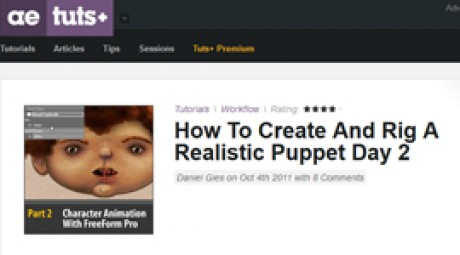 Create and Rig a Realistic Puppet: Day 2