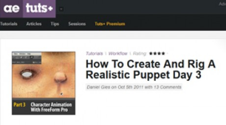 Create and Rig a Realistic Puppet: Day 3