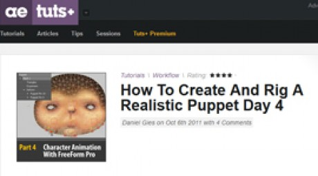 Create and Rig a Realistic Puppet: Day 4