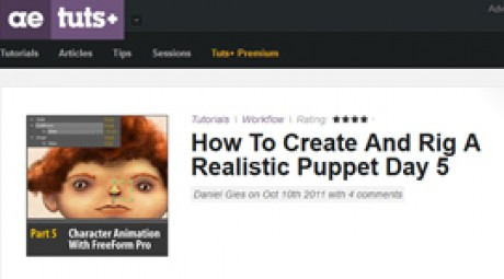 Create and Rig a Realistic Puppet: Day 5