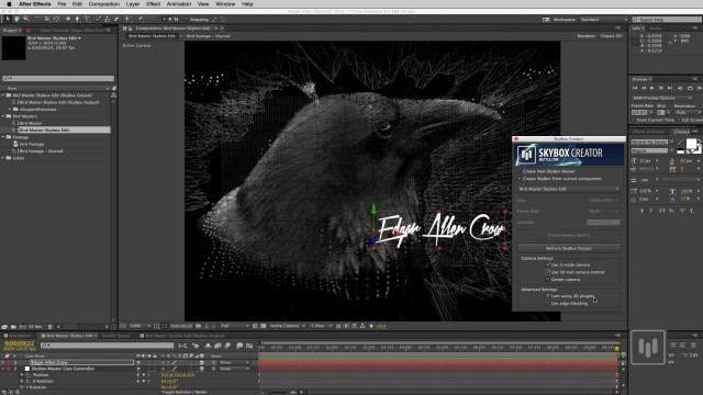 How to Bring an Ae Comp into 360 Format   SkyBox Studio   FreeForm Pro