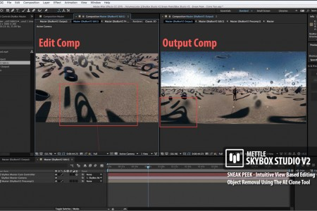 SkyBox Studio Version 2 | Object Removal with SkyBox Composer