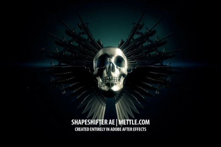Expandables 2 Title Sequence: Tutorial Using After Effects CS6 + ShapeShifter AE