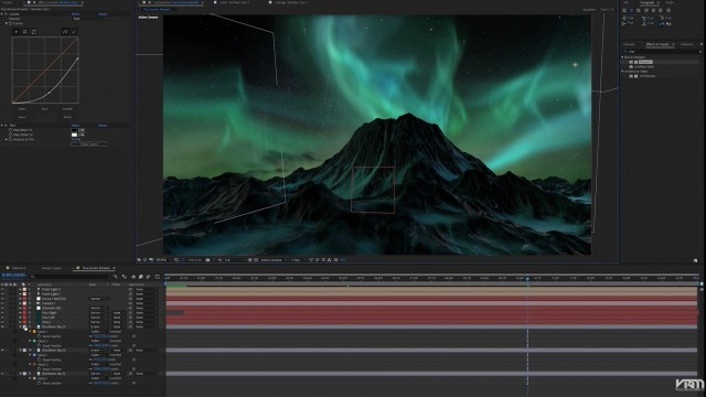 How to Create an Aurora Borealis with FLUX   Video Realm Media
