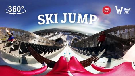 Ski jumping 360°