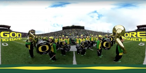 University of Oregon Marching Band 360°