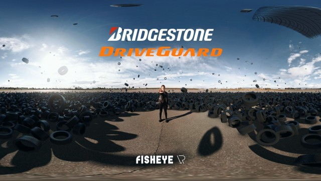 Bridgestone Driveguard 360 Video | FisheyeVR | SkyBox Studio