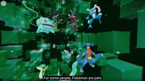 Pokémon in 360 degree video
