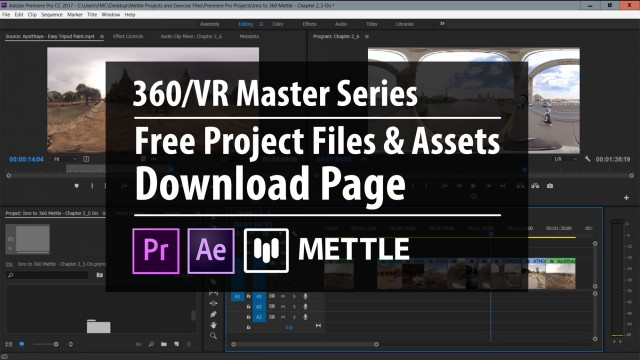 Free Project Files + Assets | Download Page | 360/VR Master Series