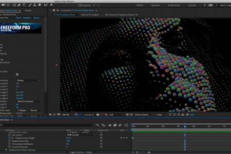 Tutorial: Reveal Animation with Spheres   After Effects   FreeForm Pro