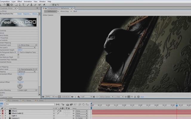 Alien Grill Sneak Peek FreeForm Pro 3D Plug-in for Adobe After Effects