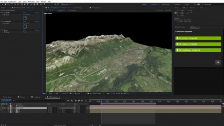 Create 360/VR Landscapes in After Effects | GEOLayers 2 + FreeForm Pro + SkyBox
