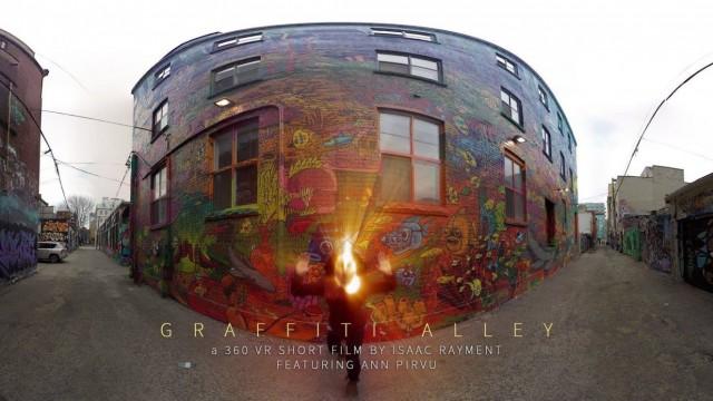 Graffiti Alley   VR Short Film