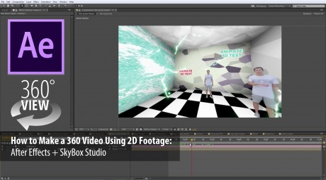 How to Make a 360° Video with 2D Footage | SkyBox Studio