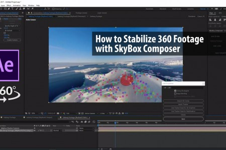 How to Stabilize 360 Footage with SkyBox Composer | Charles Yeager