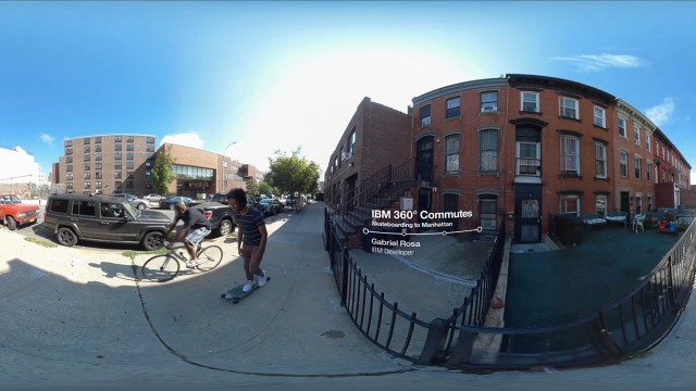 IBM 360° Commutes: Riding To Manhattan with Gabriel Rosa