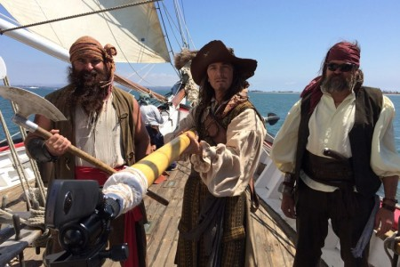 """Fowl Seas"" 360/VR Pirate Adventure for GoPro   Light Sail VR"