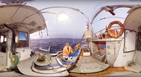 Skrei Fishing in Norway - 360 Video