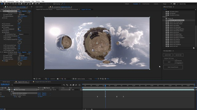 How to Create a Stylized Overcapture Video   After Effects CC 2018   Mantra VR