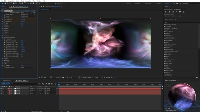 How to Create a Gas Planet Nebula | After Effects | FLUX