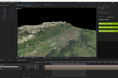 Create 360° Landscapes in After Effects | GEOLayers 2 + SkyBox + FreeForm Pro