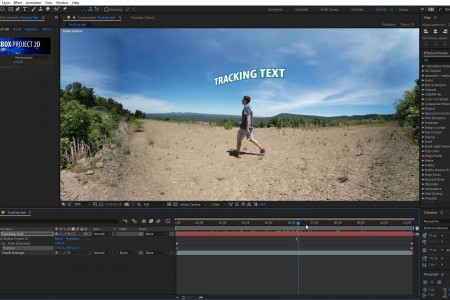 360/VR Tutorial | How to Track Text to a Person Walking | SkyBox Studio V2