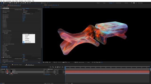 Create an X-Ray Effect in After Effects with FLUX + Mantra V2