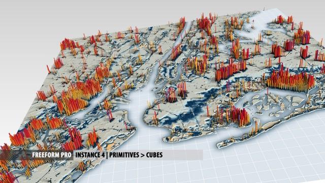 Breakdown: New York Terrain Infographic