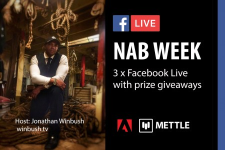 NAB WEEK: 3 x Facebook Live | Host Jonathan Winbush
