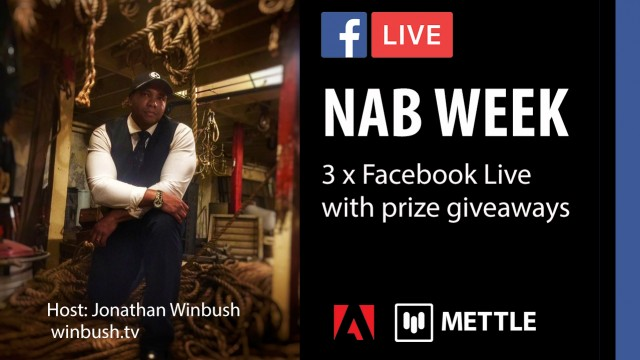 NAB WEEK: 3 x Facebook Live | Host Jonathan Winbush