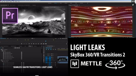 SkyBox 360/VR Transitions 2 | LIGHT LEAKS