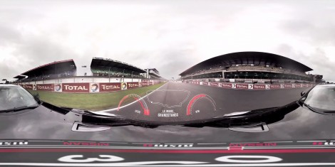 Nissan Drives LeMans 360 | SkyBox