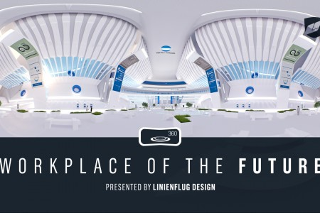 """""""Workplace of the Future"""" VR Experience for Konica Minolta   Linienflug Design"""