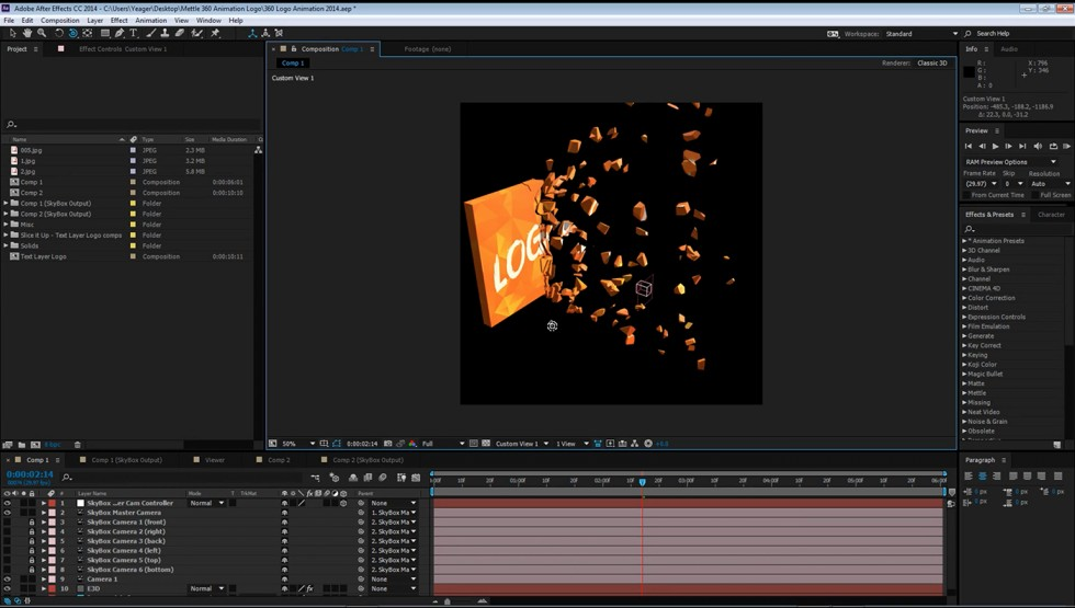 after effects animation