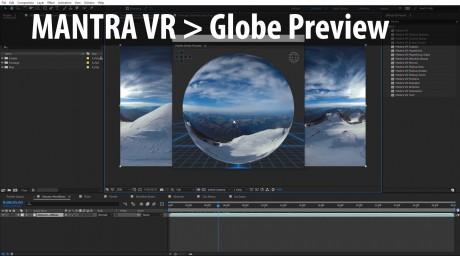 Mantra VR > Globe Preview