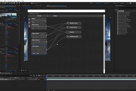 How to Use the Mantra VR Node Panel