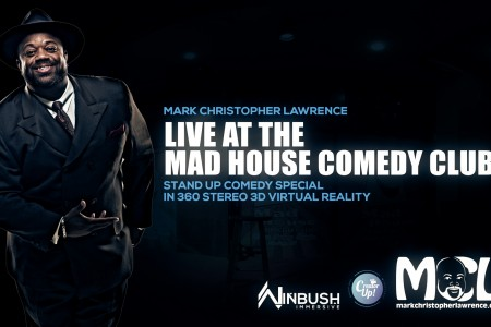BTS | VR Comedy Special | Mark Christopher Lawrence | 8K 3D 360° Experience