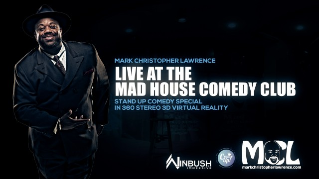 BTS   VR Comedy Special   Mark Christopher Lawrence   8K 3D 360° Experience