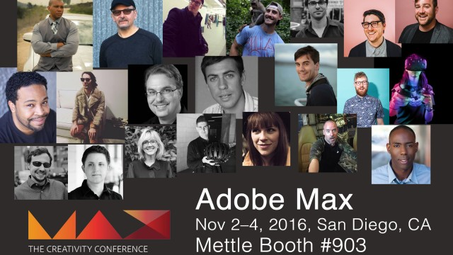 Mettle Showcasing 360|VR Filmmakers at Adobe Max