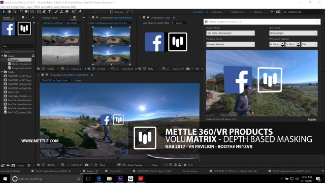 Facebook Collaborates with Mettle for 360° Depth Related VR