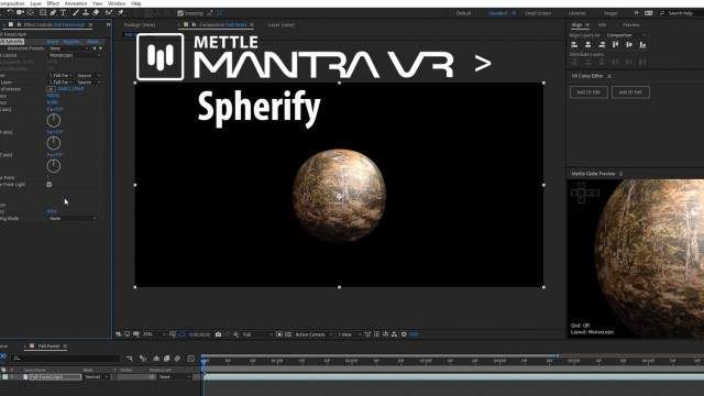 New! Mantra VR > Spherify | Overview