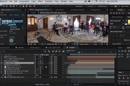 Making of Michelle Obama 360   SkyBox Studio