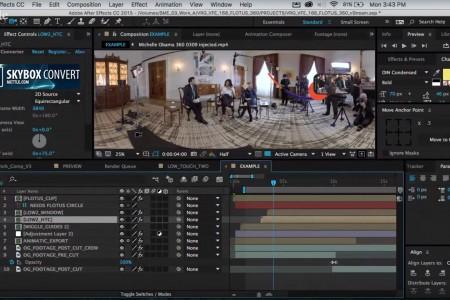 Making of Michelle Obama 360 | SkyBox Studio
