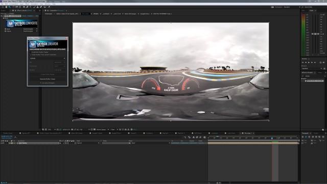 Production Process for Nissan Le Mans 360   SkyBox Studio