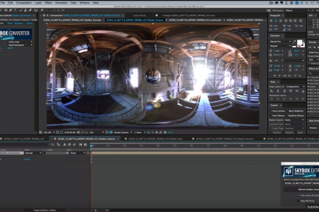 How to Add Effects in 360 Video   SkyBox Studio