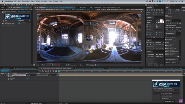 How to Add Effects in 360 Video | SkyBox Studio