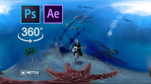 Monsters of the Deep Tutorial   360 Video from 2D PhotoShop   Aton Sanz-Katz