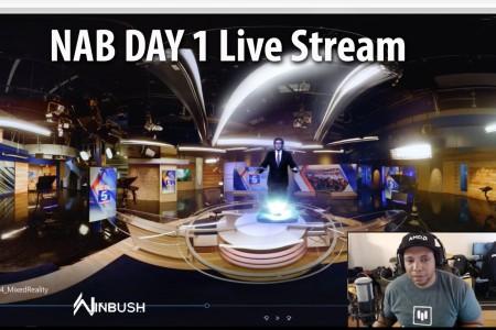 BTS: Fox 5 San Diego Virtual Tour | Live with Jonathan Winbush | Mantra VR | FreeForm Pro