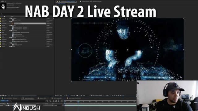 BTS: Mix Master Mike – MOONBASE INVASION (ReMix) VR | Live with Jonathan Winbush